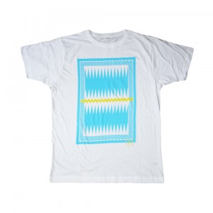 ARE. // MEN T-SHIRT // CHARLIE // WHITE
