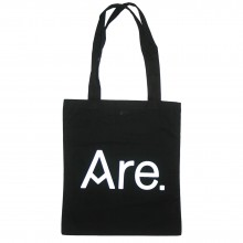 ARE. TOTE // BLACK // LOGO