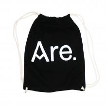 ARE. SPORT BAG // BLACK // LOGO