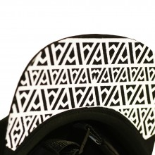ARE. 5 PANEL CAP // BLACK - ∆