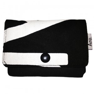 ARE. WALLET // BLACK - LOGO.