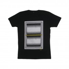 ARE. // MEN T-SHIRT // CHARLIE // BLACK