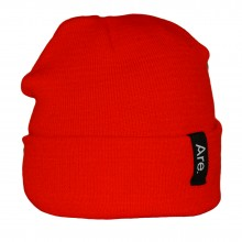 ARE. BEANIE // SIDE // RED