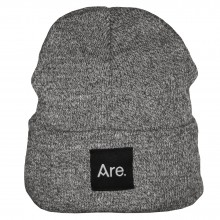ARE. BEANIE // DARK GREY HEATHER