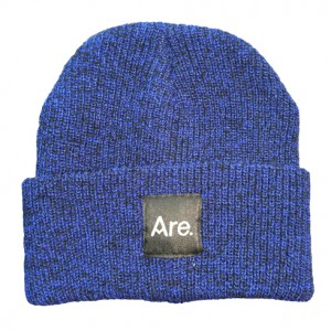 ARE. LOGO BEANIE // ANTIQUE ROYAL