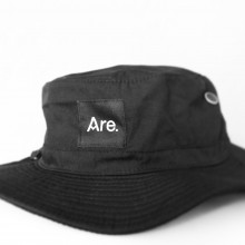 Are. Bucket Hat // Black
