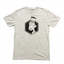 ARE. // MEN T-SHIRT // HEATHER GREY // MONKEY