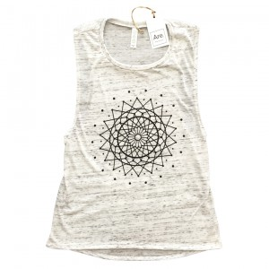 Are. // Girls Tank // Dreamcatcher // Marble White