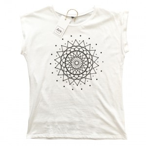 Are. // Shirt Girls Roll // Dreamcatcher // White
